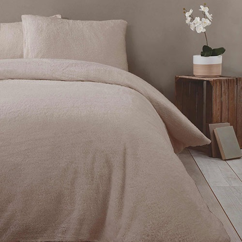 Soft teddy bedding sets