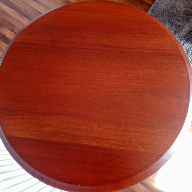 Cast iron leg side/bar table