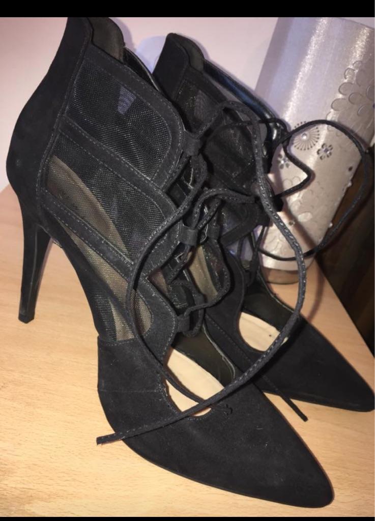 Back high heels