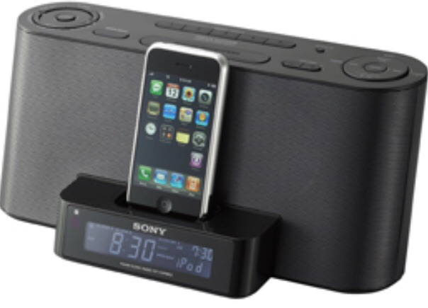 Sony Clock Radio ICF-C1iPMK2 + iPhone and iPod dock