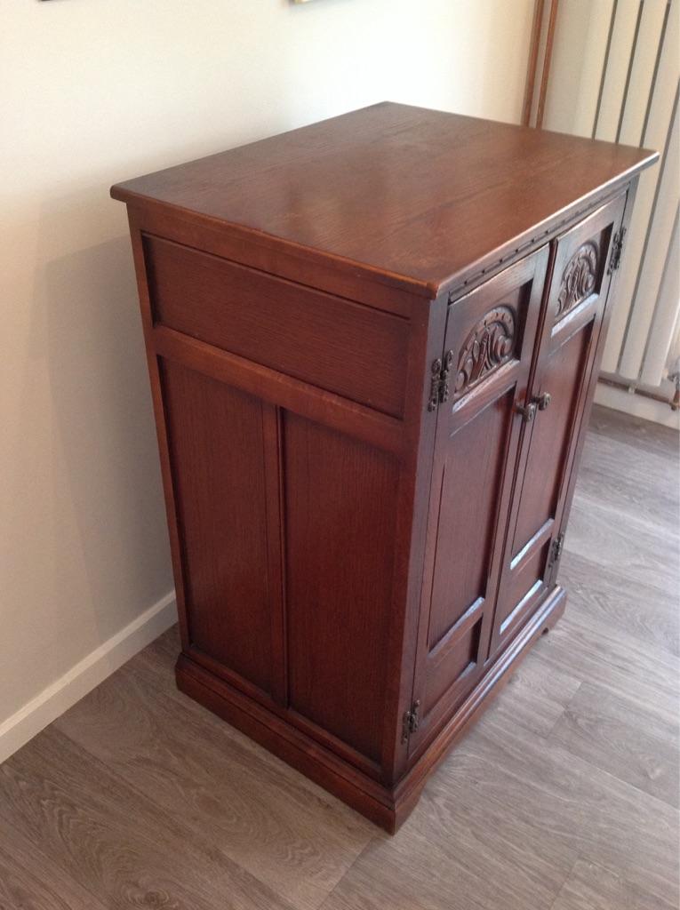 Vintage Old charm gramophone cupboard