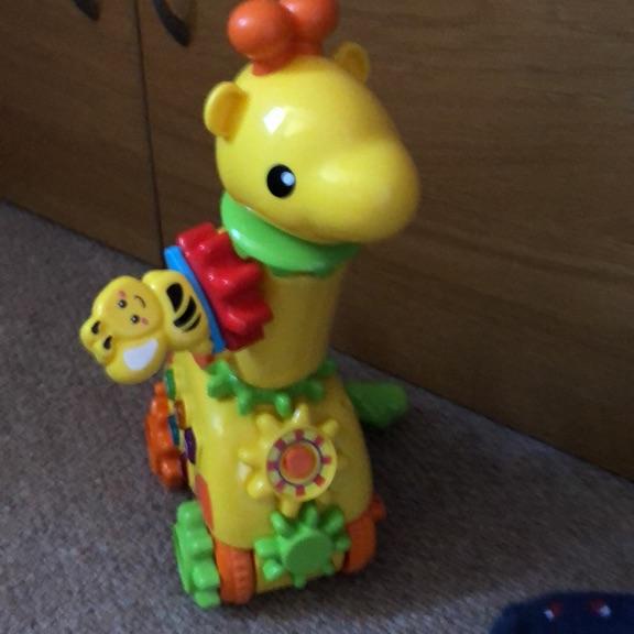 Musical shape giraffe