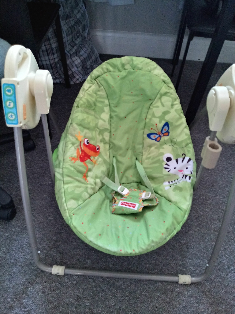 FISHER PRICE BABY SWING CHAIR/BOUNCER/ROCKER