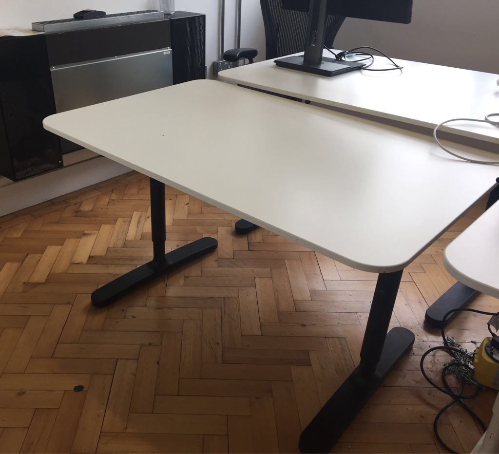 Office Furniture for Sale - 18 swivel chairs, 9 large desks and 20 small desks