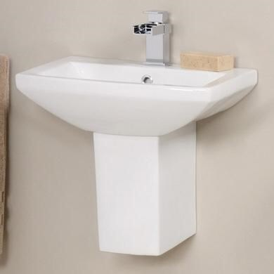 BRAND NEW AND UNOPENED PEDESTAL AND SINK 460mm