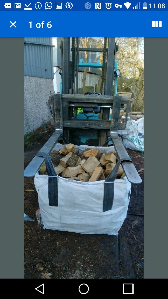 Dry seasoned Logs and Kindling - free local delivery!!