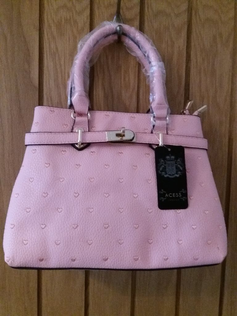 Lovely Pink Handbag by Acess