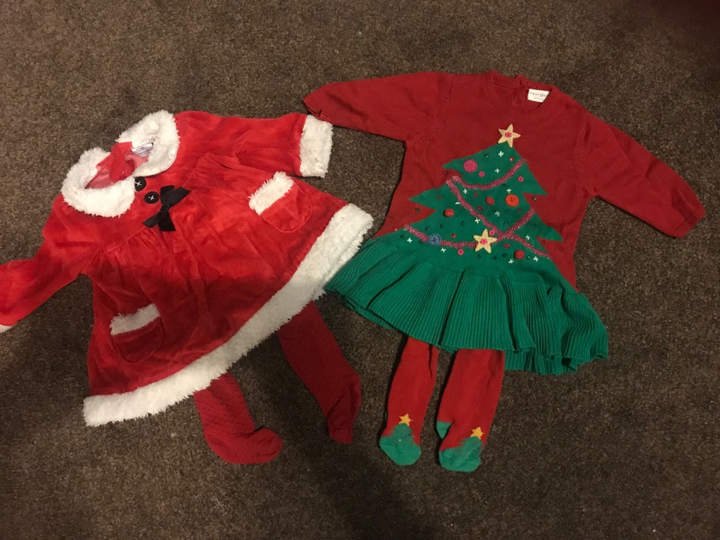 Christmas wardrobe 0-3months (25+ items)