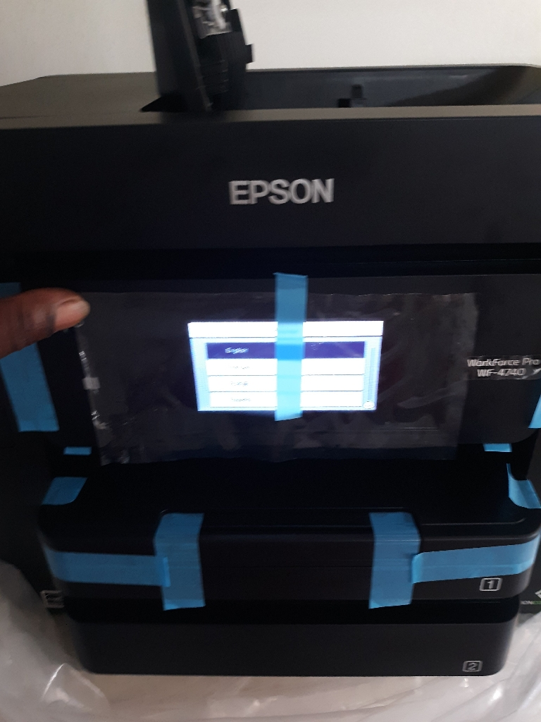 Epson 4740 work force pro printer