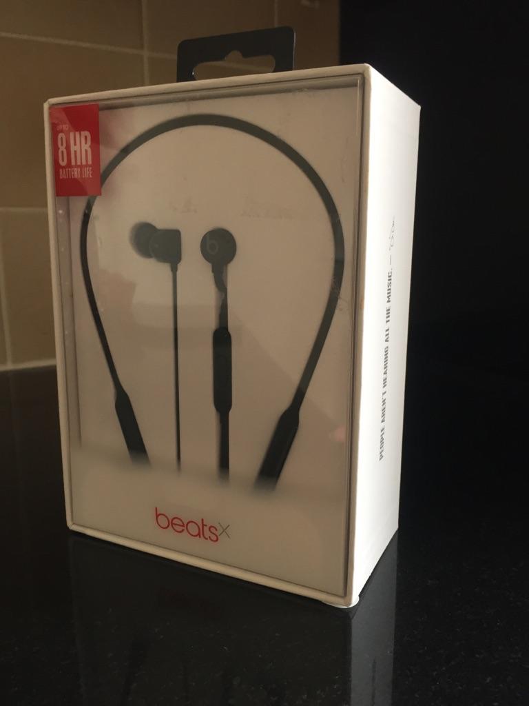 Beats X by Dr Dre in-ear headphones