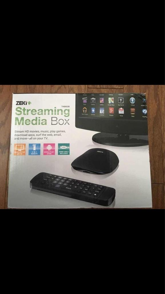 Zeki Media Streaming Box
