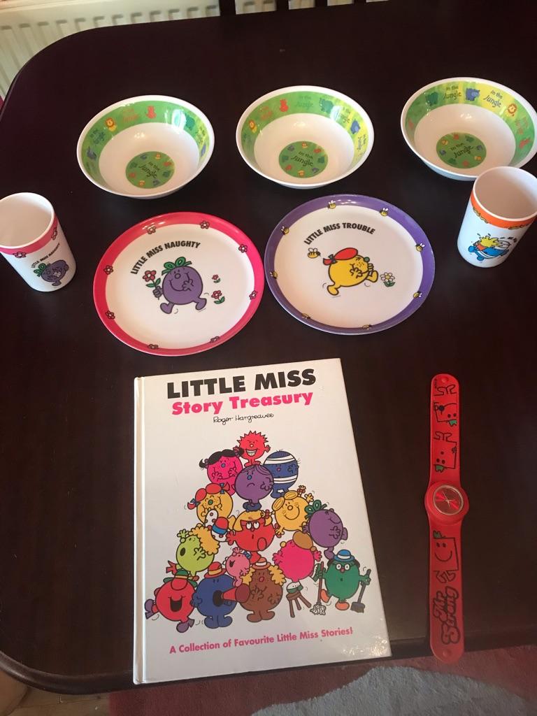 Children's Mr Men Items