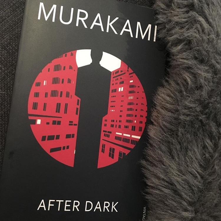 After dark book by Haruki Murakami fiction
