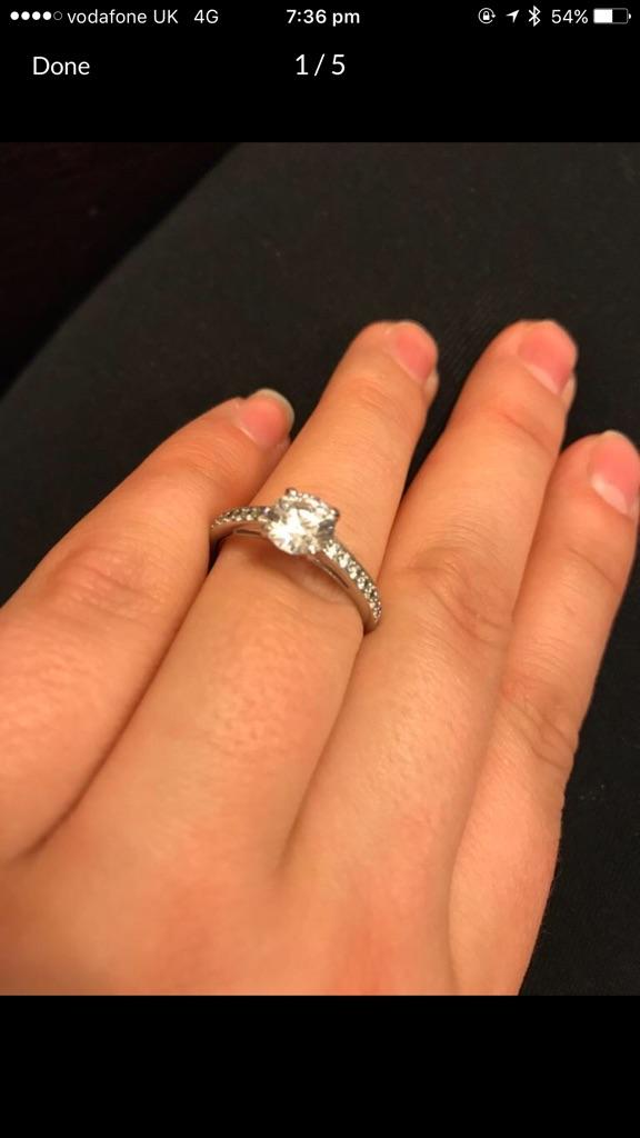 Gorgeous Swarovski Ring.