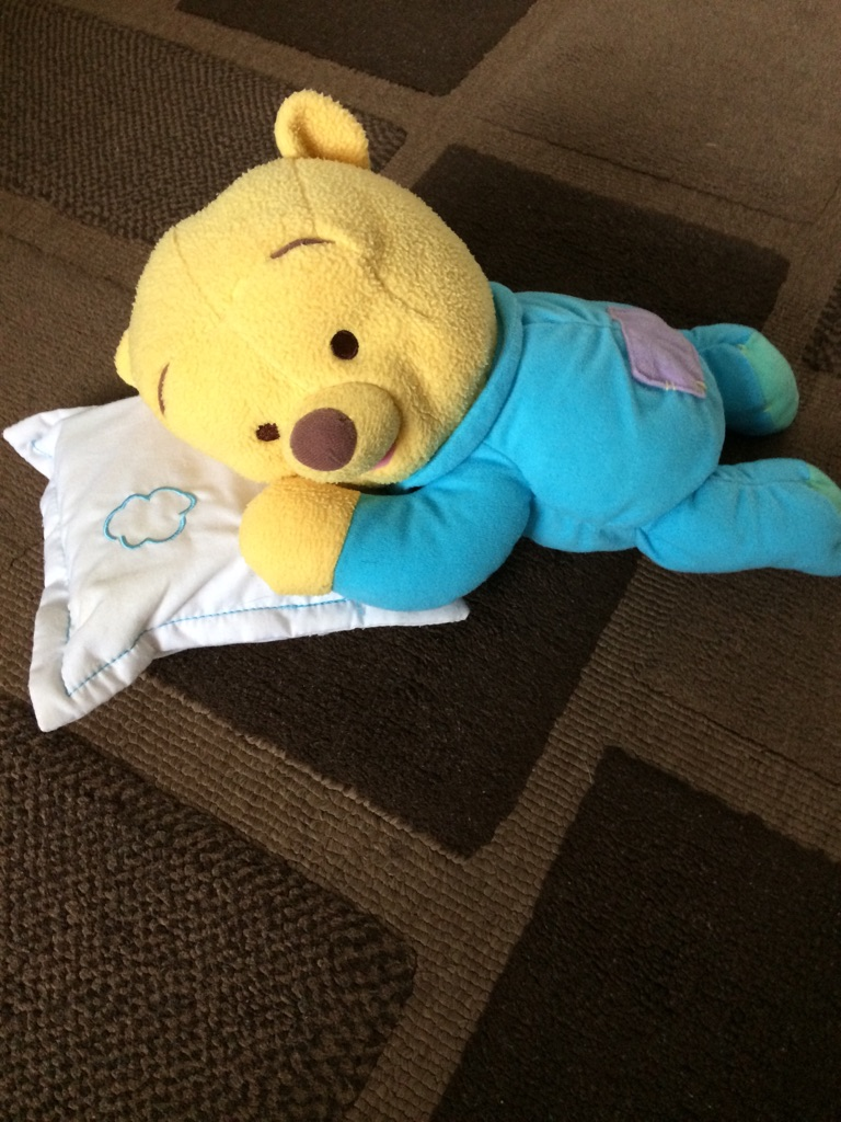 Winnie the Pooh Lullaby Sleeping Bear