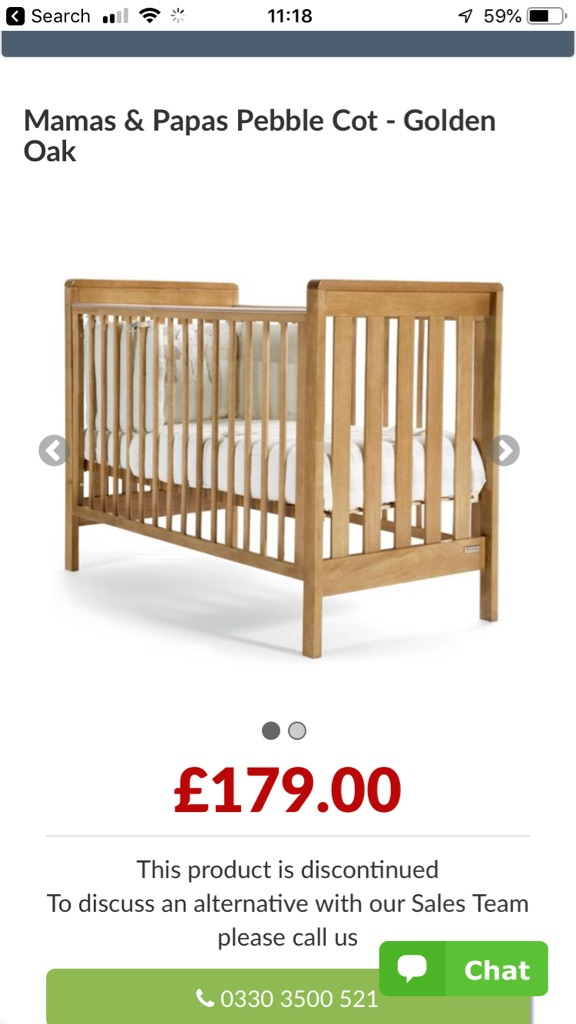 Mamas & Papas Pebble Cot