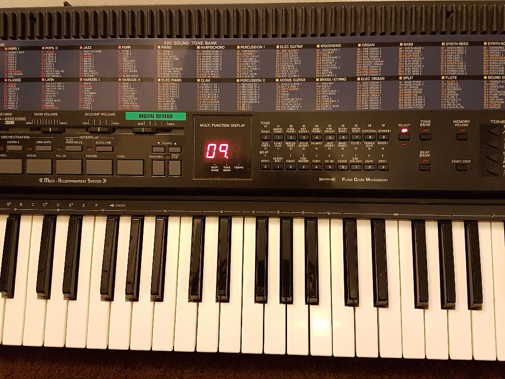 CASIO CT-680 ELECTRONIC KEYBOARD
