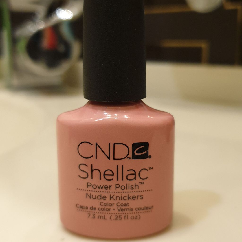 CND schellac 'Nude Knickers'