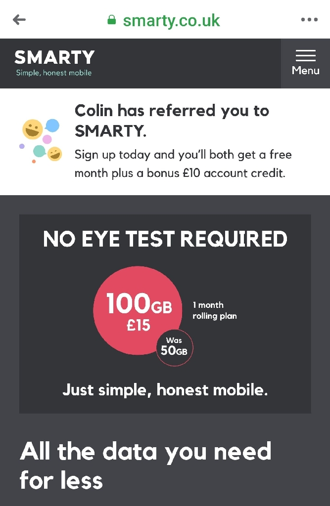 FREE - Smarty Mobile Sim Cards. . .