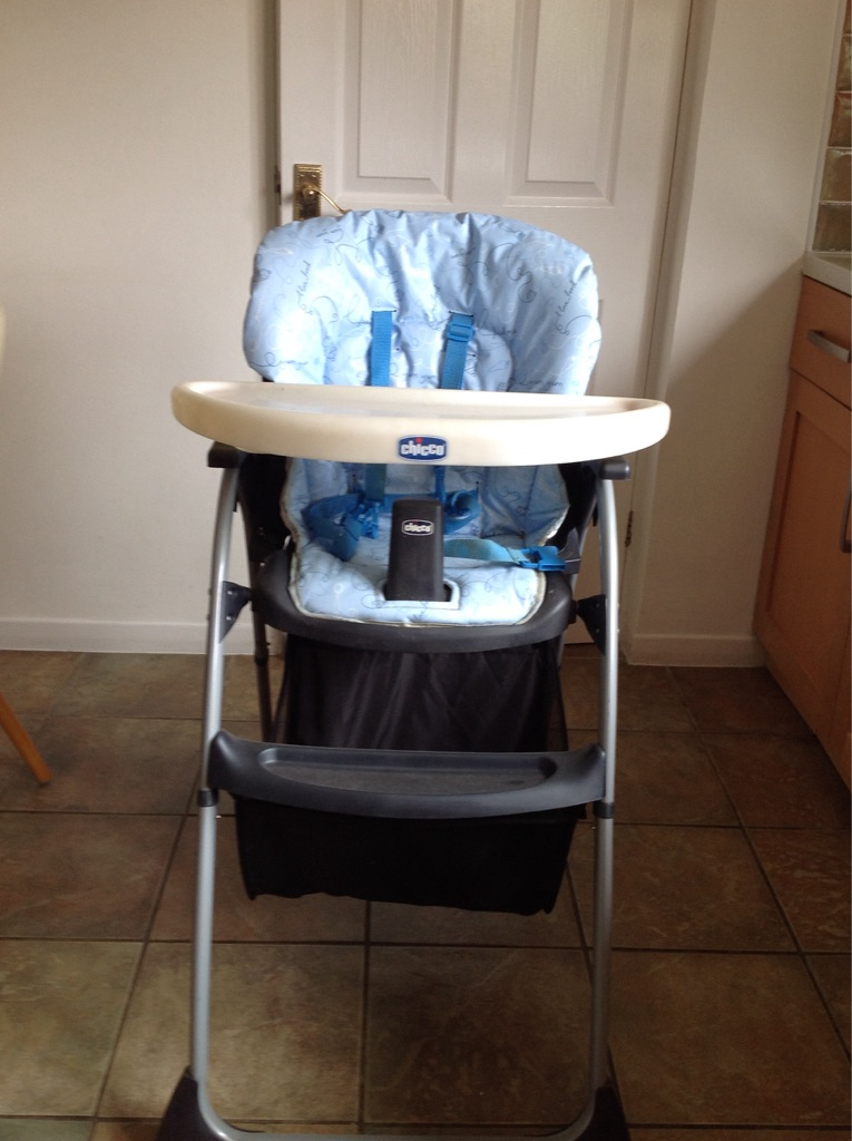 Chicco baby High chair and cot bed