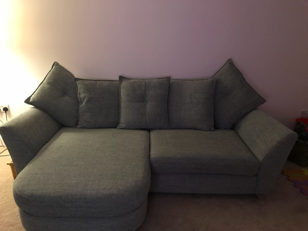DFS Teal sofa for sale