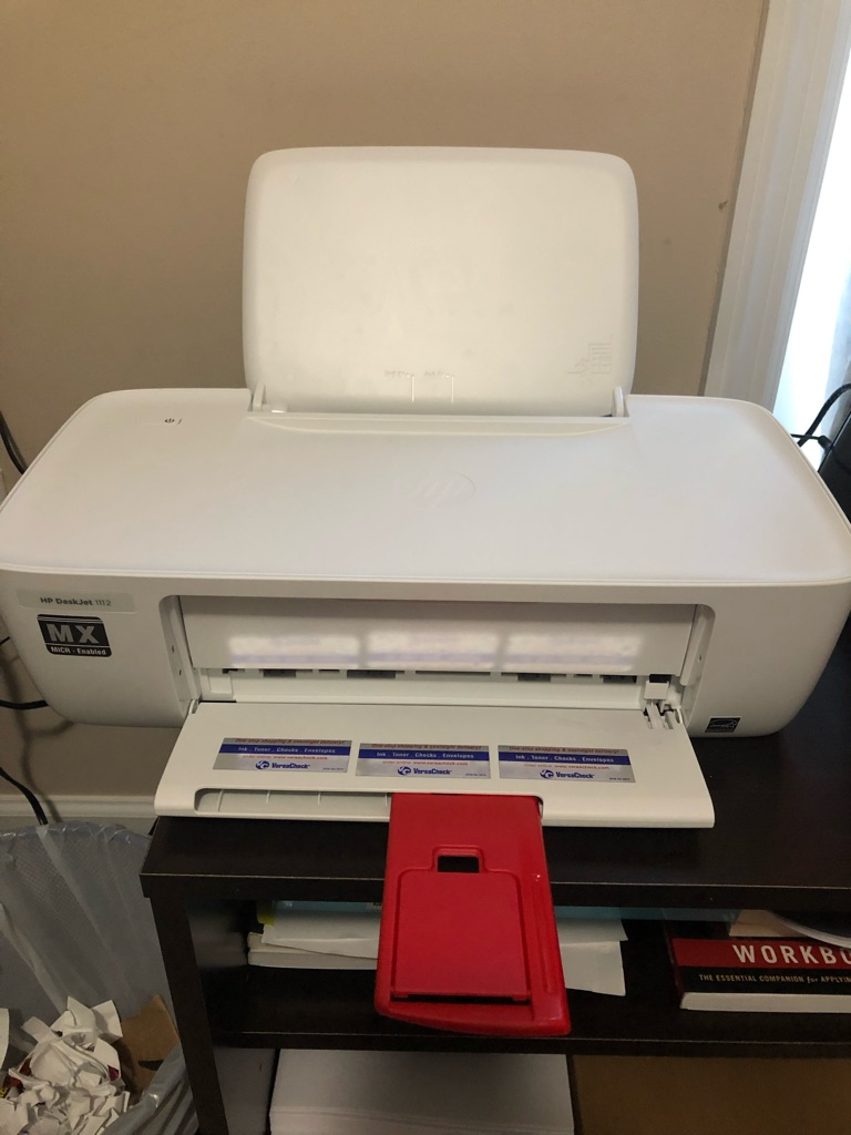 HP Deskjet 1112 MX- MICR printer