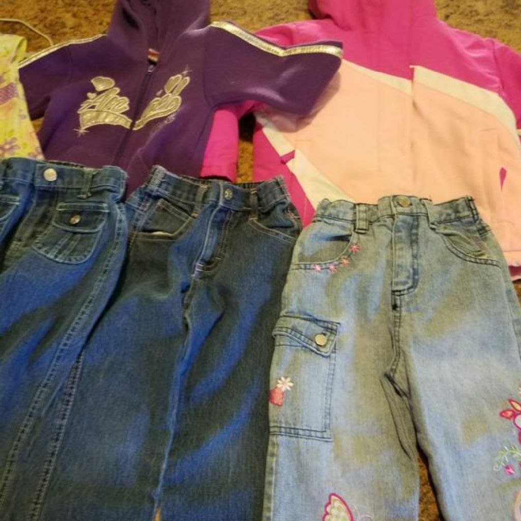 4t pants and two coats