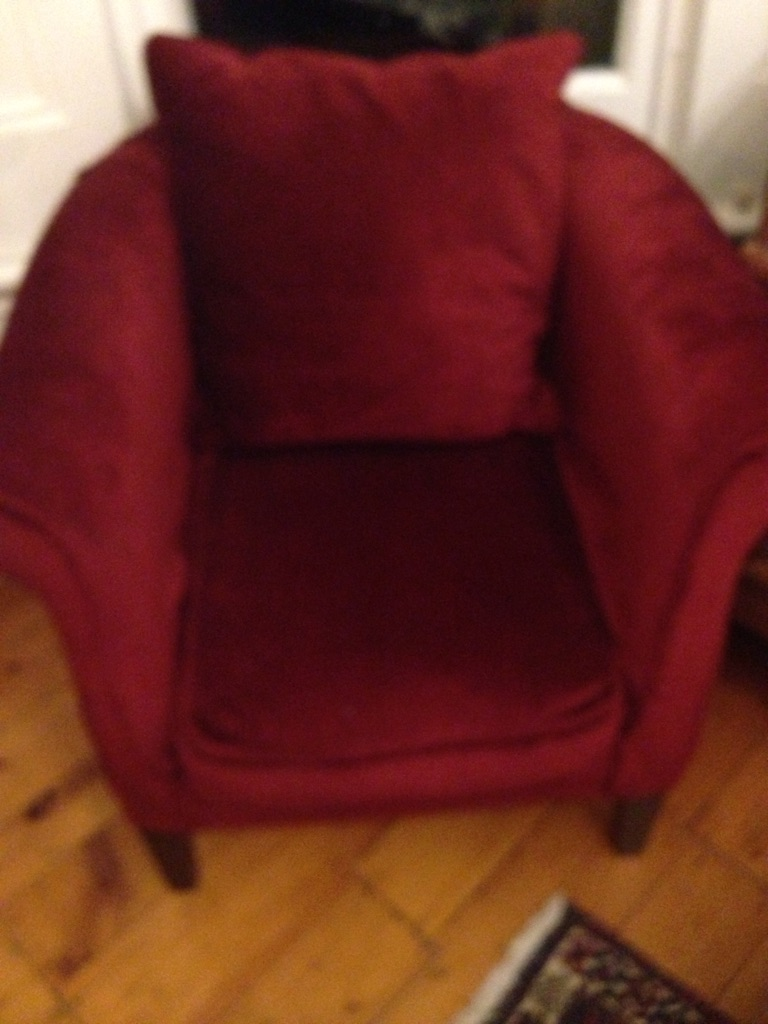 Laura Ashley Tub chair upholstery project