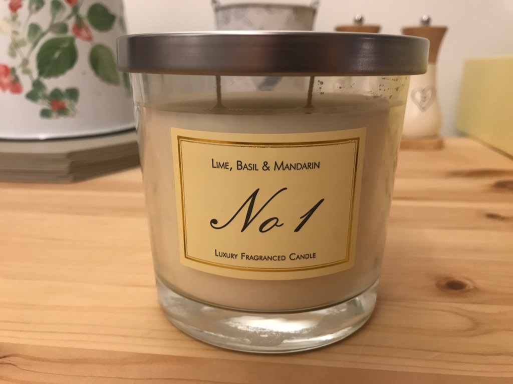 NEW Lime, Basil & Mandarin, No1 Luxury Candle