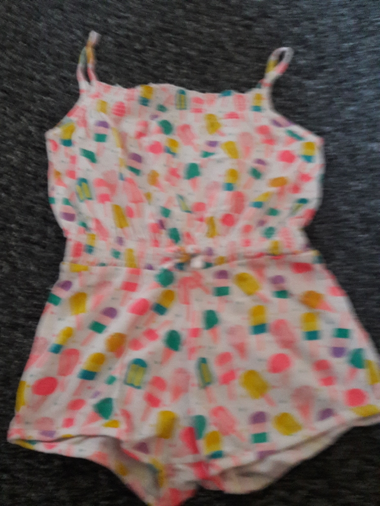 Girls playsuits NEW age 2/3 years