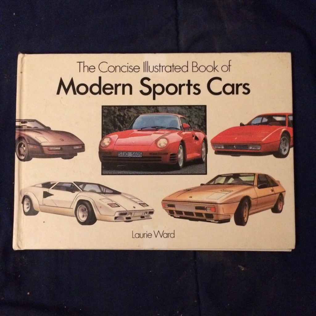 The Concise Illustrated Book of Modern Sports Cars 🚘