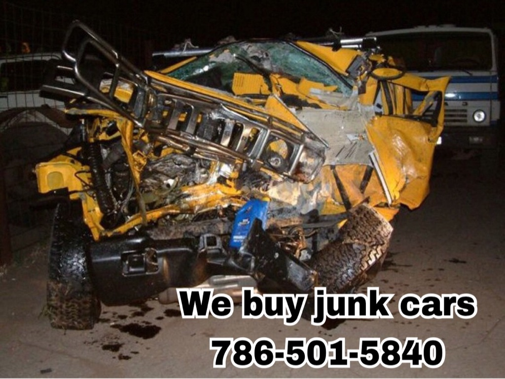 We buy junk cars call