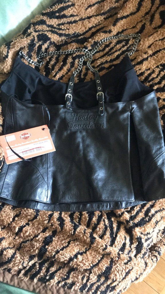 Harley Davidson leather halter