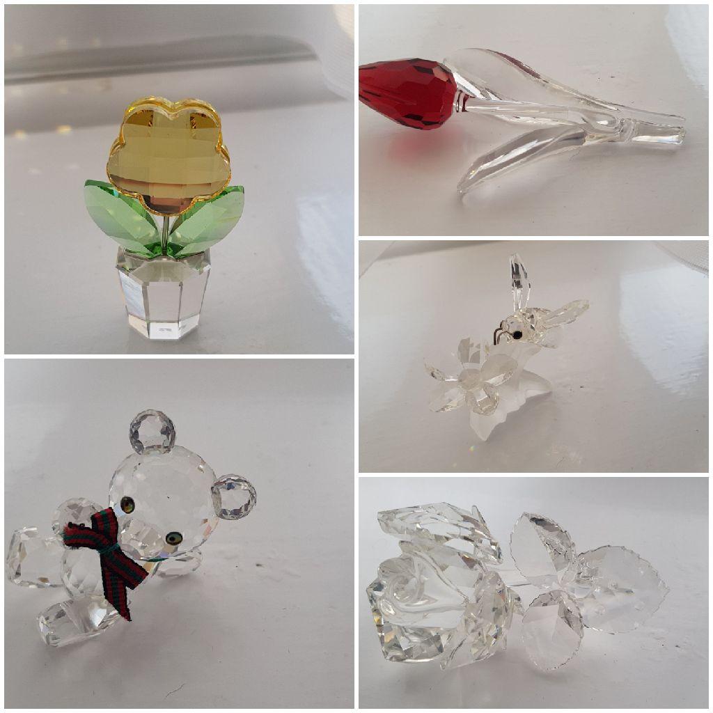 Swarovski crystal figures