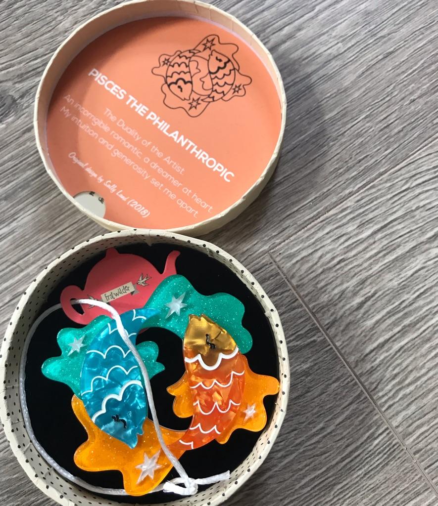 Erstwilder Pisces brooch BNIBWT £15.00