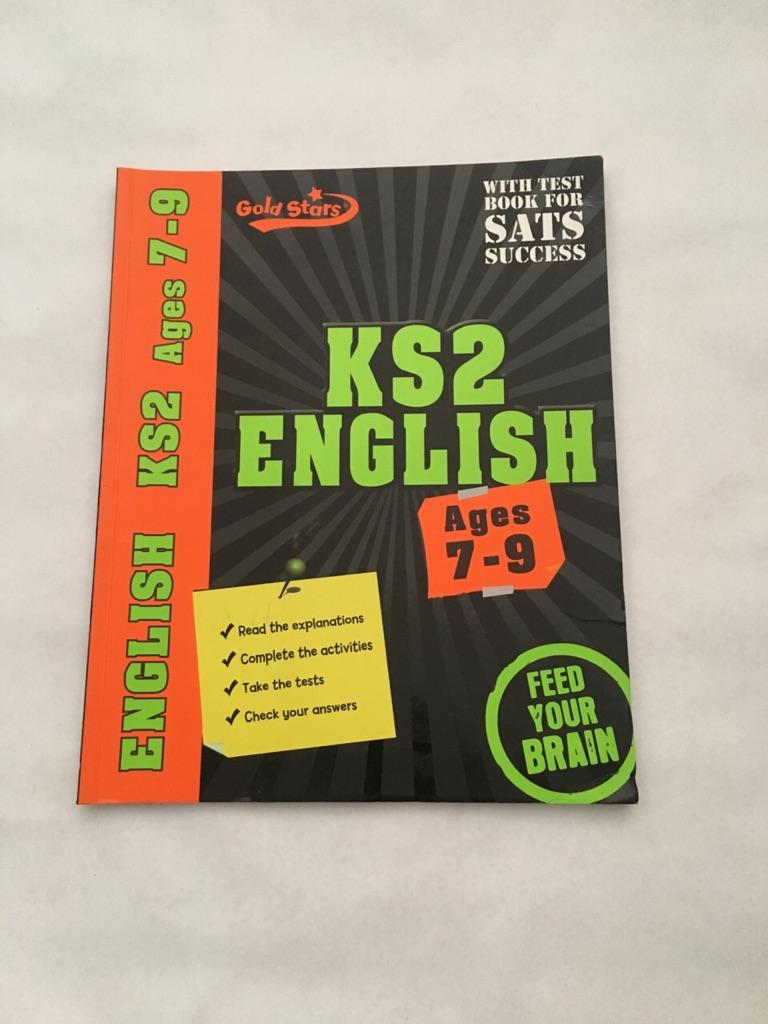 Gold Stars Workbooks: Ks2 Age 7-9 English