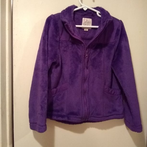 1989 Girls Zip up Purple