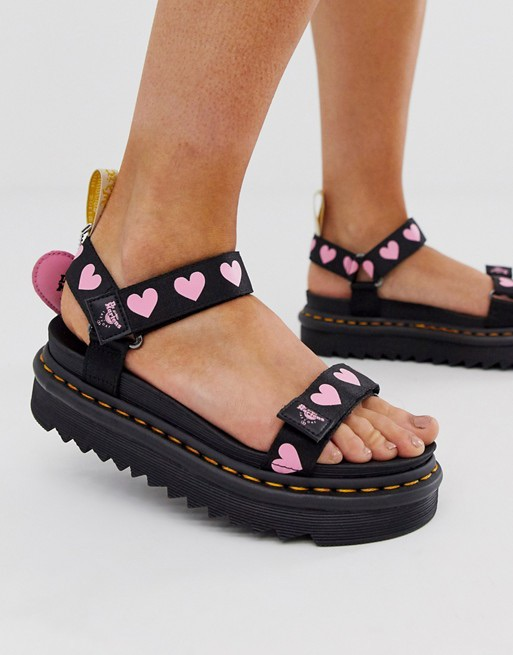 Dr Martens x Lazy Oaf Vegan Sandals in UK size 5