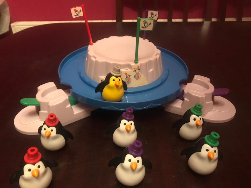 Children's Super Flippin' Penguins Game