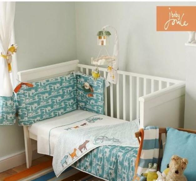 Boys Joules nursery set