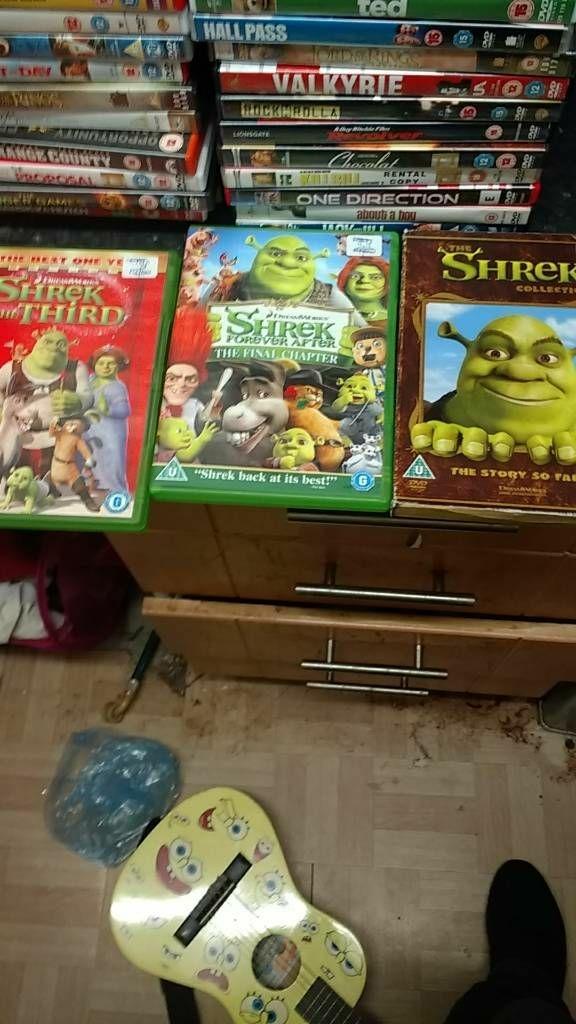 3 shrek dvd