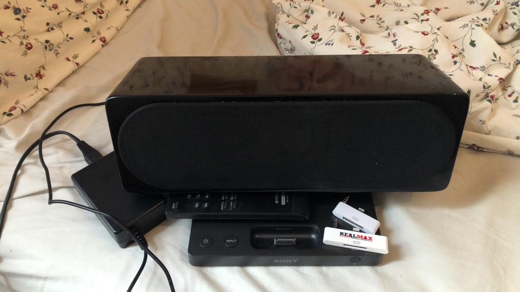 Sony docking station speaker