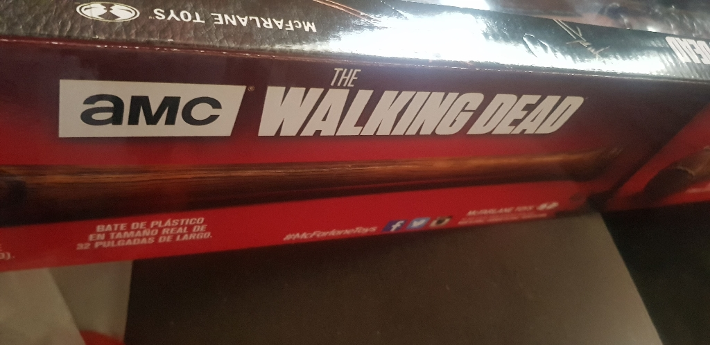 Walking dead baseball bat pfficial replica