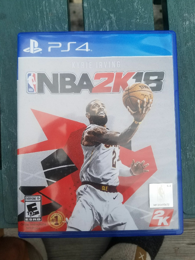 PS4 NBA 2K18