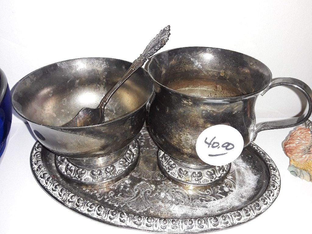 Silver Tea Set from 1900s