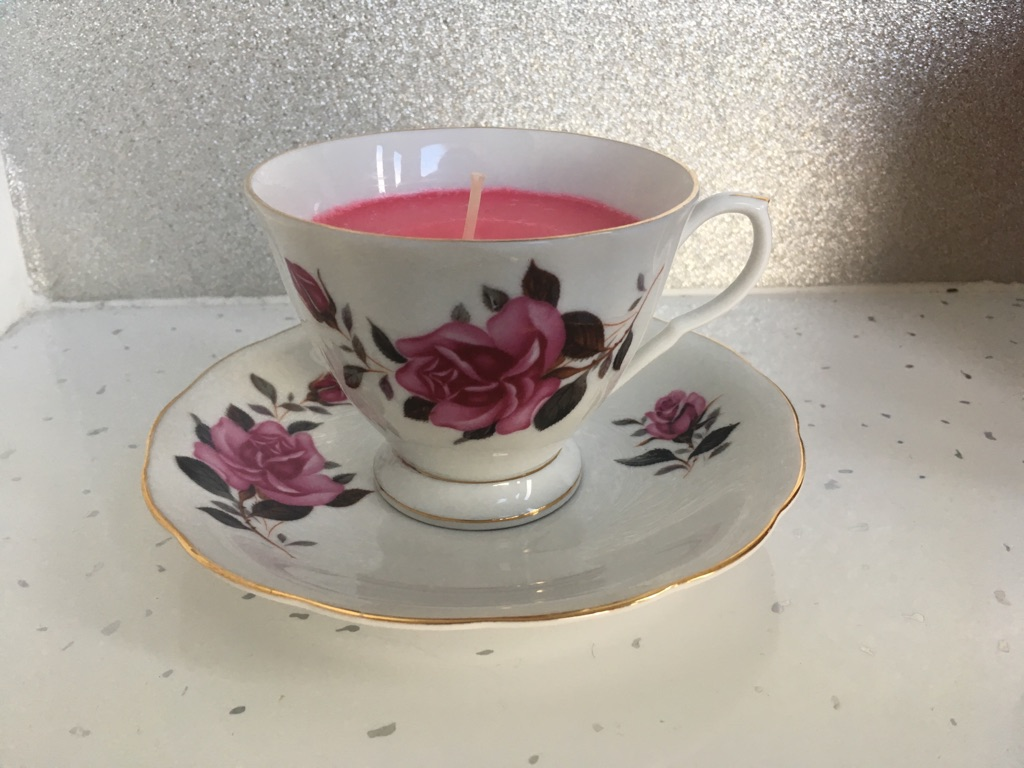 Scented teacup candles - great gifts!