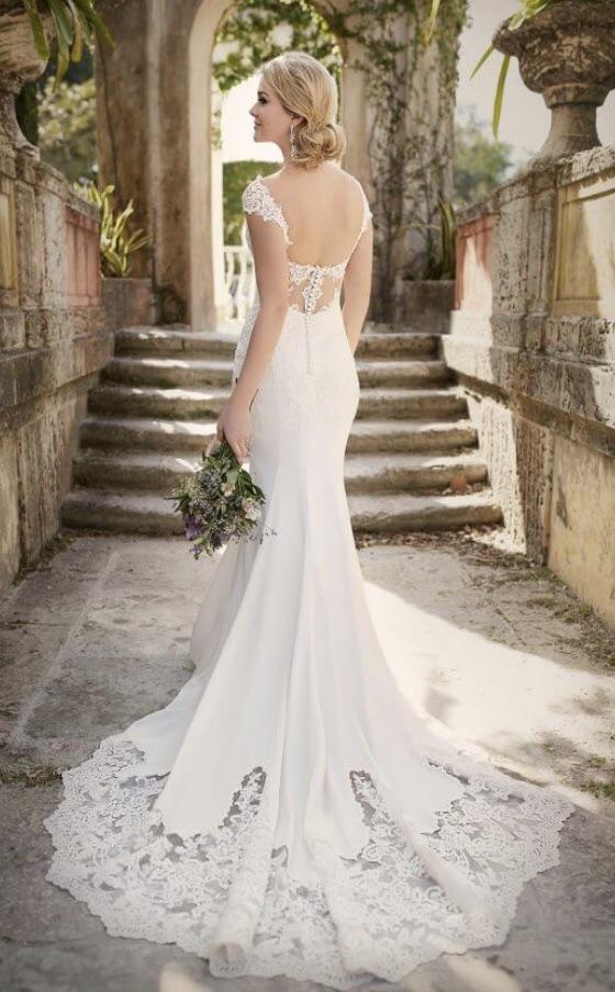 Essence of Australia ivory wedding dress, D1897zz