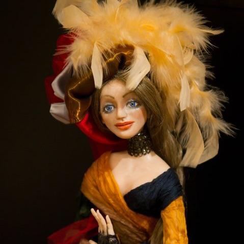 Art doll Manon