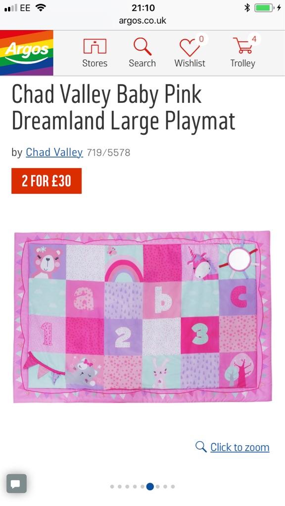 Large dreamland play mat