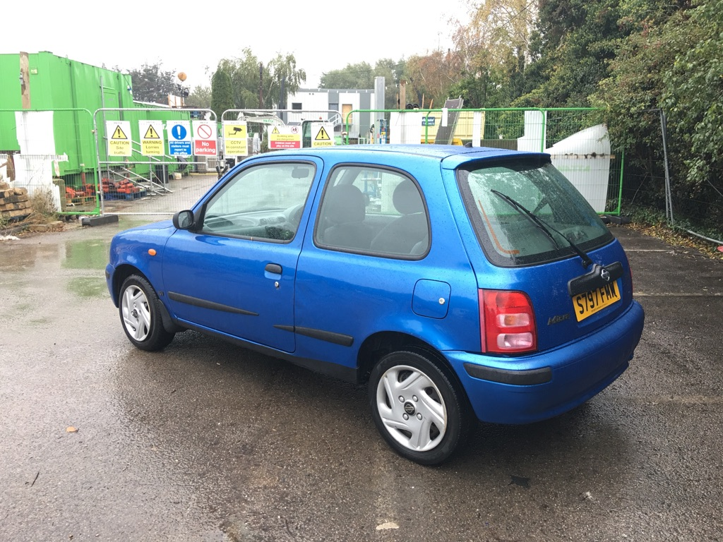 1998 Nissan Micra 1.0 16v Ally, 3 door hatchback, Petrol, Manual